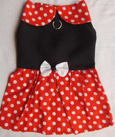 Vestido Minnie- Vermelho