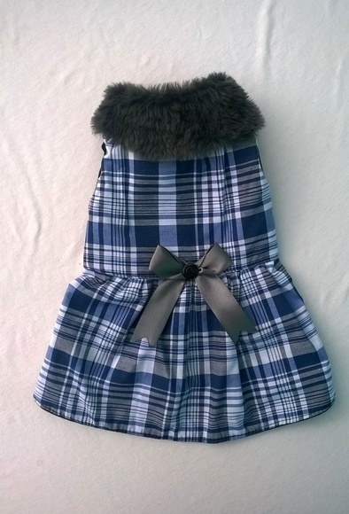 Vestido Xadrez  - Shoppinho Animal