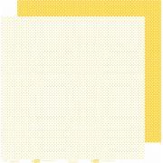 Papel ScrapPaper Dr Papel - Poá - Amarelo Rio de Janeiro - com 3 folhas