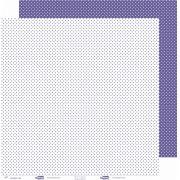 Papel ScrapPaper Dr Papel - Poá - Lilás/Roxo Amsterdam - com 3 folhas