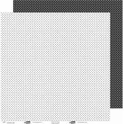 Papel ScrapPaper Dr Papel - Poá - Preto Los Angeles - com 3 folhas