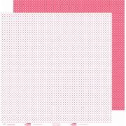 Papel ScrapPaper Dr Papel - Poá - Rosa Cancun - com 3 folhas