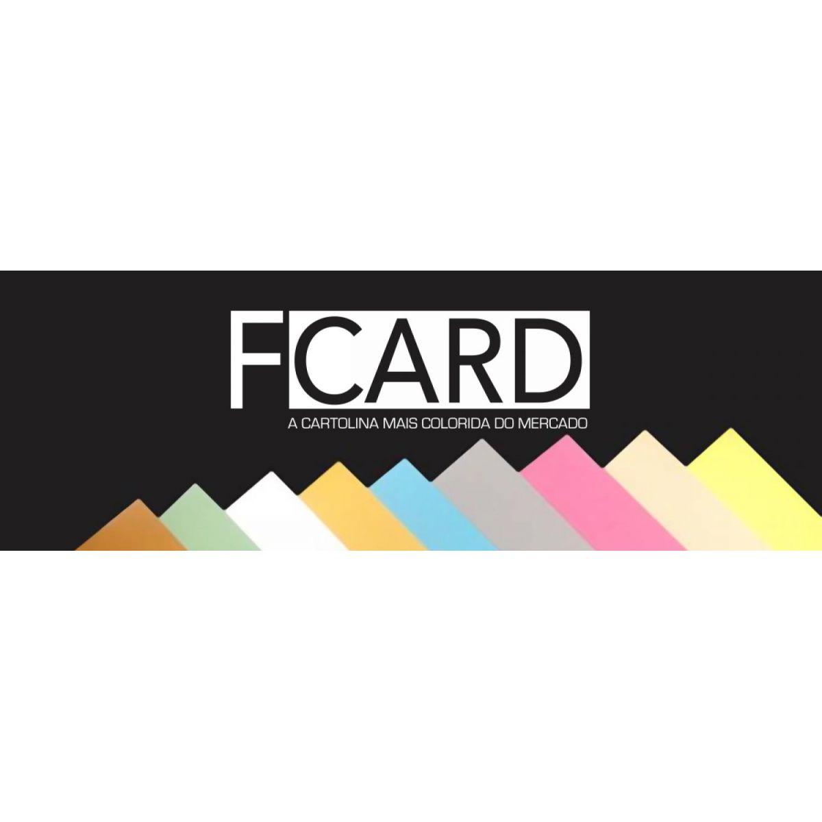 Cartolina F-CARD 55x73 cm - 180g com 5 Folhas