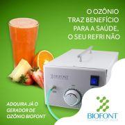 Ozonizador de Água e Alimentos Biofont
