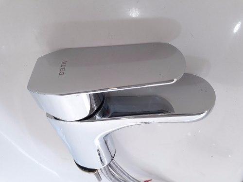 Misturador Monocomando Para Lavatório Elemetro Delta 23025