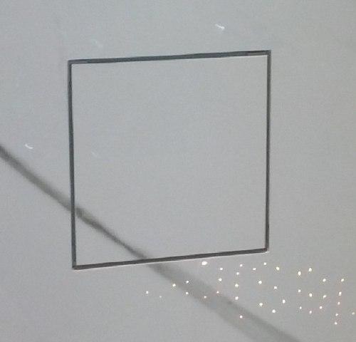 Ralo  quadrado tampa Oculta Em Inox   P/ Cx De 10cm Mozaik