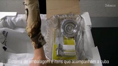 Cuba Inox C/ Acessorios 66x45  Funzionale 20.03.20231