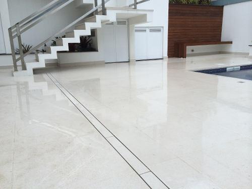 Ralo Linear P/ Sacadas WCS, Terraços E Piscinas Inox 304 Infinity 1,60m
