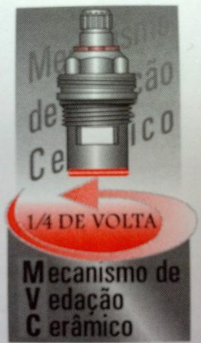 Torneira Lavatório Cromo Alta 30cm 45 Graus Alavanca Cod.3124