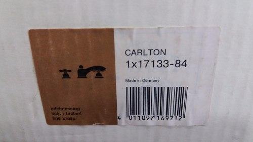 Kit 2 pcs - Misturadores de lavatorio Hansgrohe Ouro antigo  Axor Carlton Ref.17133-84