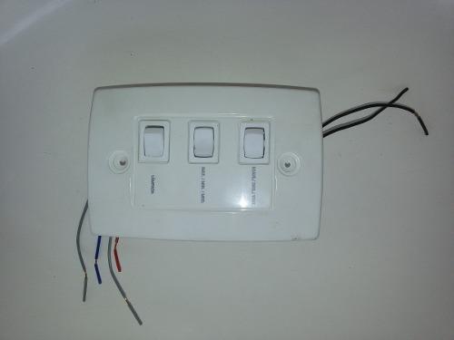 Dimmer Controle De Parede Dimer P/ventilador De Teto 110v