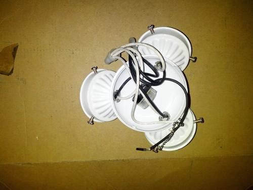 Kit Iluminação C/ Tulipa Ventilador Homeline Pç P/ Reposição