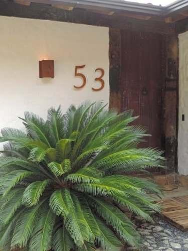 Algarismo P/ Residencia - Números Em Aço Corten 15cm Ref.td