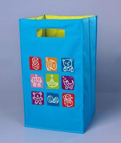 Cesto P/ Roupas Ou Brinquedo Infantil Supercolorido E Forte