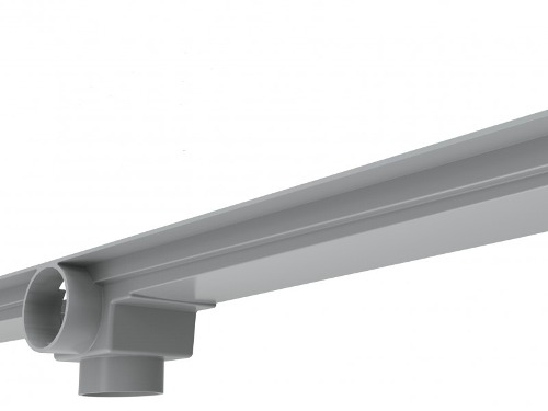 Ralo Linear Tampa Inox 304 Saida Central e Horizontal 60cm L. Smart