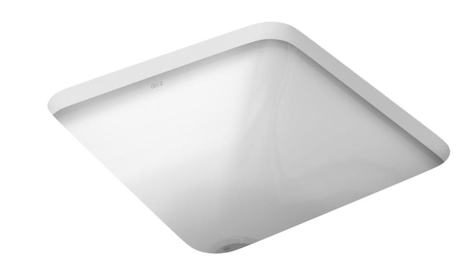 Cuba de Embutir Quadrada Branca 35cm L.415.17