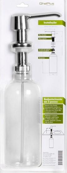 Dosador P/ Detergente Ou Sabonete Liquido p/ Embutir na bancada 1150ml