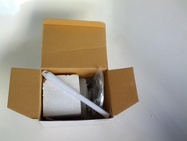 Escova Sanitaria Higienic - Suporte Em Metal Cromado E Vidro Higienic
