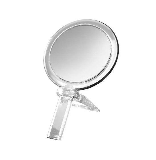 Espelho De Aumento Cristal amplia 5x Linha Beaute