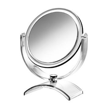Espelho De Aumento Cristal/mesa,amplia 5x Linha Miroir