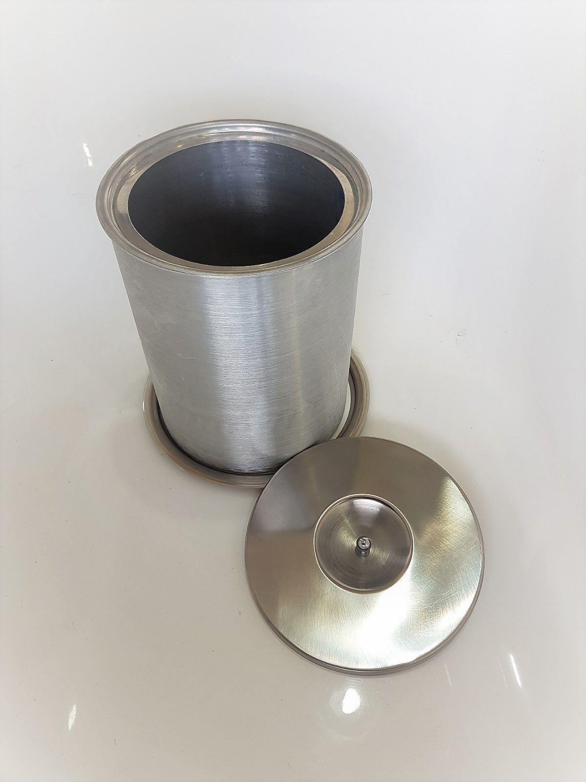 Lixeira Pia Cozinha Embutir No Granito Em Inox 3lt 15X25 CM