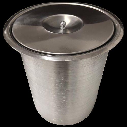Lixeira Pia Cozinha Embutir No Granito Em Inox 5lts 20X24 CM