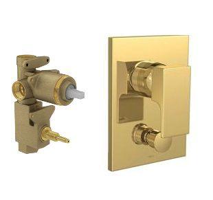 Misturador monocomando 4 vias de chuveiro c/desviador para banheira 2994.GL90