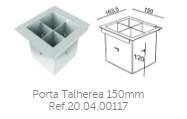 Porta Talheres 150mm Ref.20.04.00117
