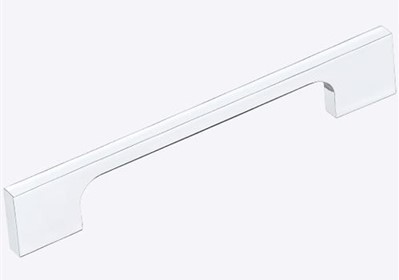 Puxador alça p/ moveis 288mm cromado Ref.1726