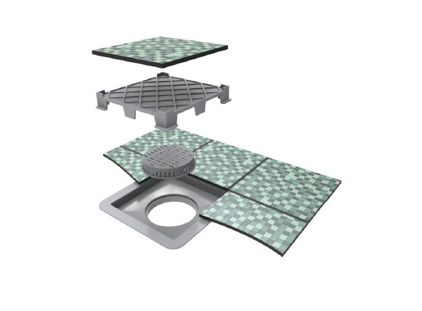 Ralo Linear Square Fit Tampa Oculta P/ Cx De 10cm Ou 15cm