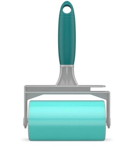 Rolo Adesivo Lavável  p/ Remoção de pelos e poeira