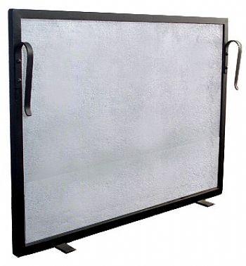 Tela Para Proteção - Grade Para Lareira  60x40 Ferro Preto