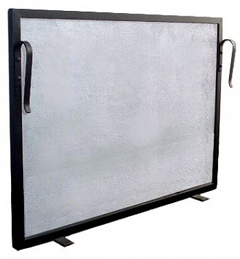Tela Para Proteção - Grade Para Lareira 80x60 Ferro Preto