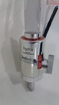 Torneira Eletrica Bancada Slim Multitemperatura  Cromada 220v Hydra