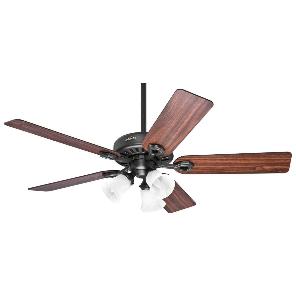 Ventilador de Teto BUILDER PLUS - Hunter - 5 Pás - Bronze Novo