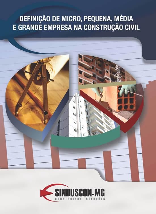 Definição de Micro, Pequena, Média e Grande Empresa na Construção Civil  - Livraria Sinduscon-MG