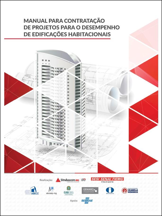 Manual para contratação de projetos para o desempenho de edificações habitacionais  - Livraria Sinduscon-MG