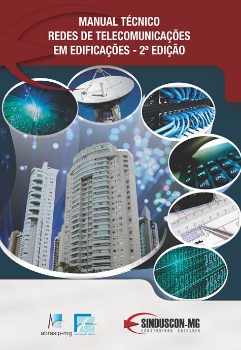 Manual Técnico Redes de Telecomunicações em Edificações - 2ª Edição  - Livraria Sinduscon-MG