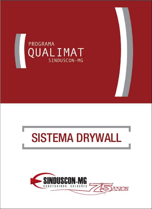 Programa Qualimat - Sistema Drywall  - Livraria Sinduscon-MG