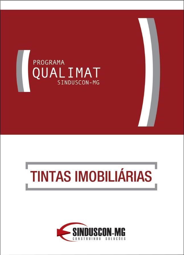 Programa Qualimat - Tintas Imobiliárias  - Livraria Sinduscon-MG