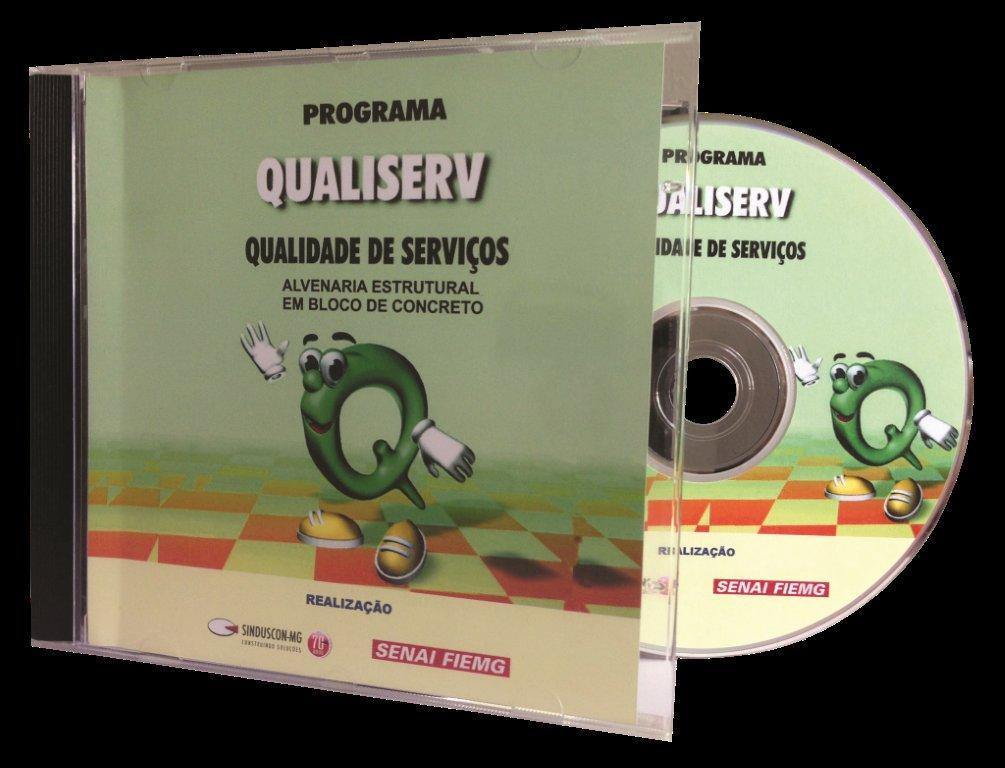 Programa Qualiserv - Qualidade de Serviços (DVD)  - Livraria Sinduscon-MG