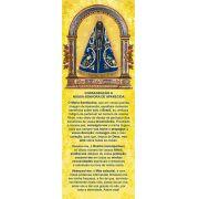 Nossa Senhora Aparecida, santinho, marcador de página, pac. com 100 unidades