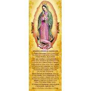 Nossa Senhora de Guadalupe, santinho, marcador de página, pacote com 100 unidades