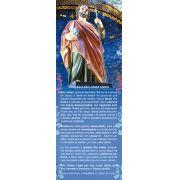 São Judas Tadeu, santinho, marcador de página, pacote com 100 unidades