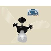Ventilador De Teto Ventidelta New Cristal Light 3 Veloc 127v