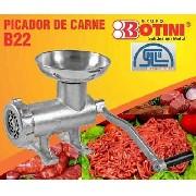 Moedor Picador de Carne B22 prato Aluminio Mimoso