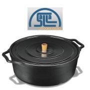 Caçarola / Panela De Ferro C/ Alça De Ferro 8,5 Litros Fumil