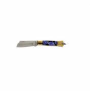 Canivete Aço Inox CB Latão/Acrílico 320/7 Cimo