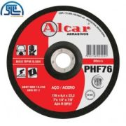 Disco Desbaste 7'' Phf76 Alcar