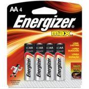 Pilha Energizer Max AA4 1,5v Alcalina